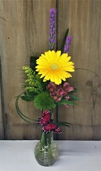 Summer Fresh Bud vase  from Pennycrest Floral in Archbold, OH
