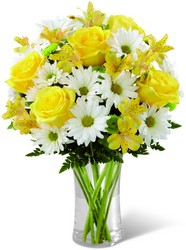 The FTD Sunny Sentiments Bouquet from Pennycrest Floral in Archbold, OH